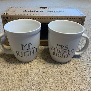 Natural Life His & Hers Mug Set